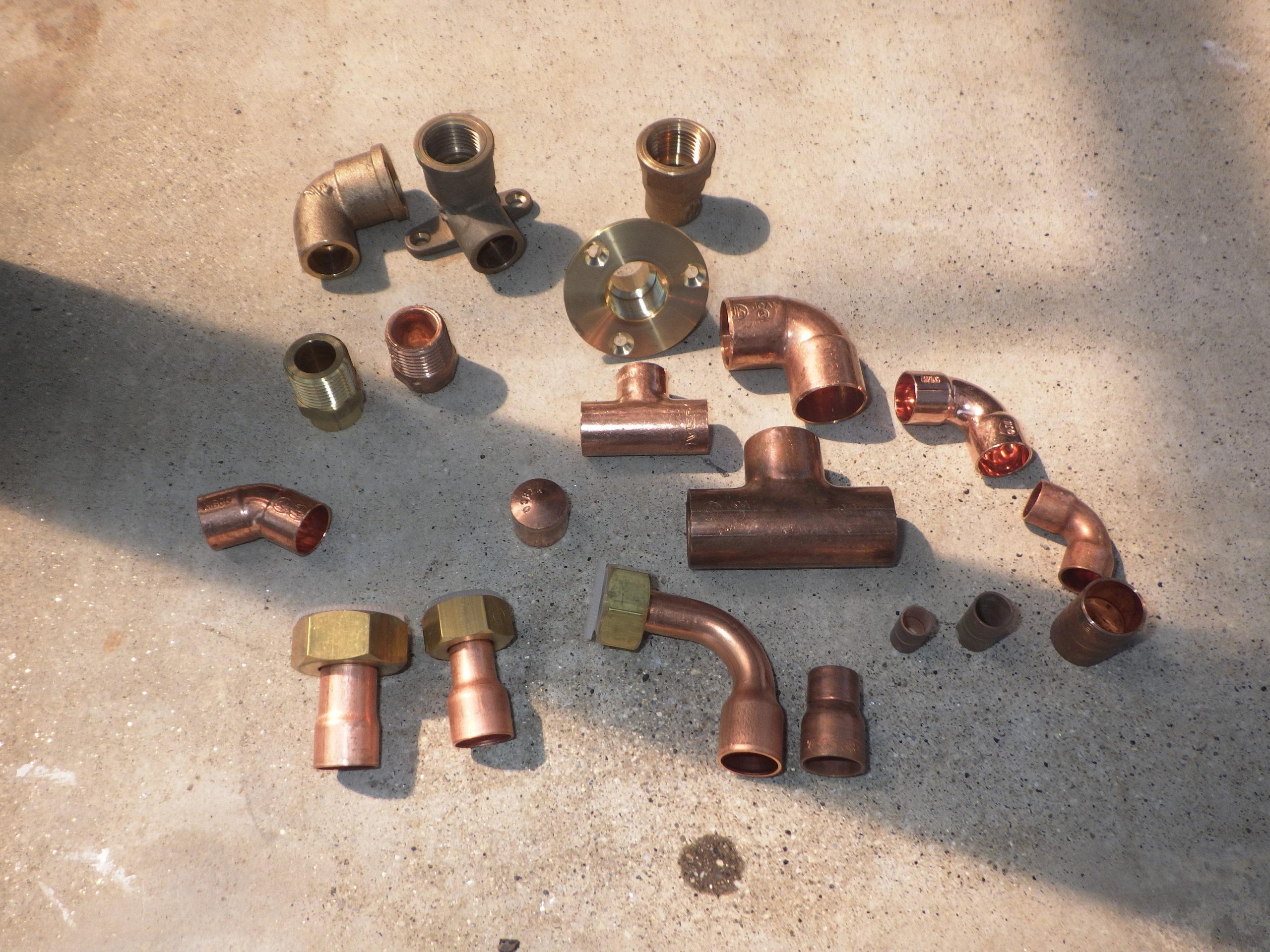 銅管継手各種